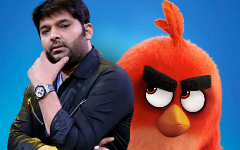 Comedy King Kapil Sharma to voice the character 'Red' in the Hindi version of the upcoming animated family entertainer 'The Angry Birds Movie 2'!