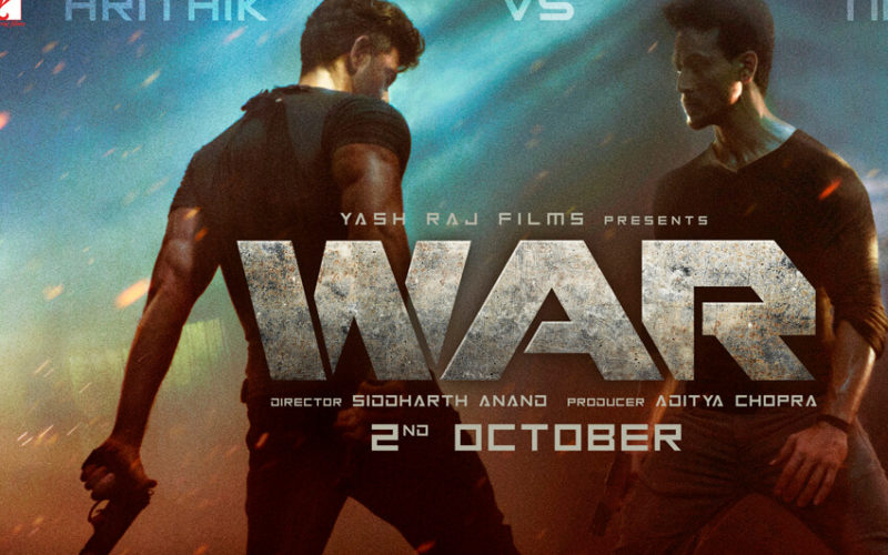 It's a WAR  between Hrithik Roshan and Tiger Shroff