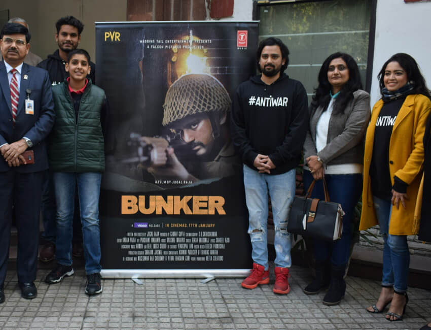 Special screening of BUNKER held for Indian Armed forces on account of Army Day in Delhi