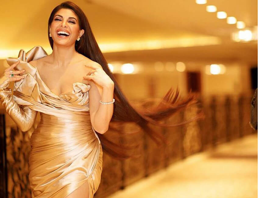 Jackie, Oh! Setting the style statement high, Jacqueline Fernandez shines on the cover of a leading magazine
