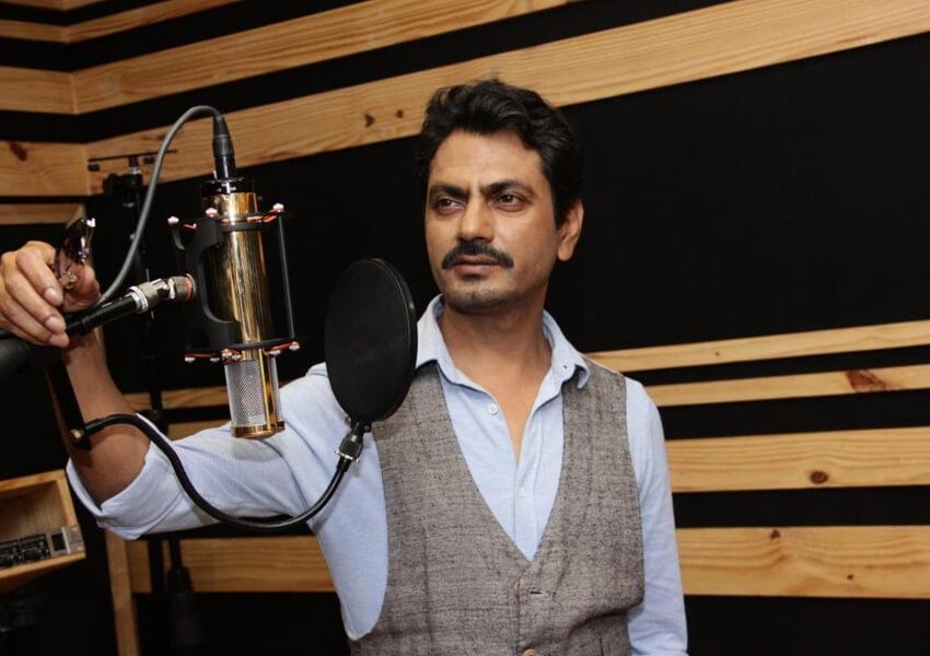 Nawazuddin Siddiqui records a rap song for Woodpecker Movies 'Bole Chudiyan'