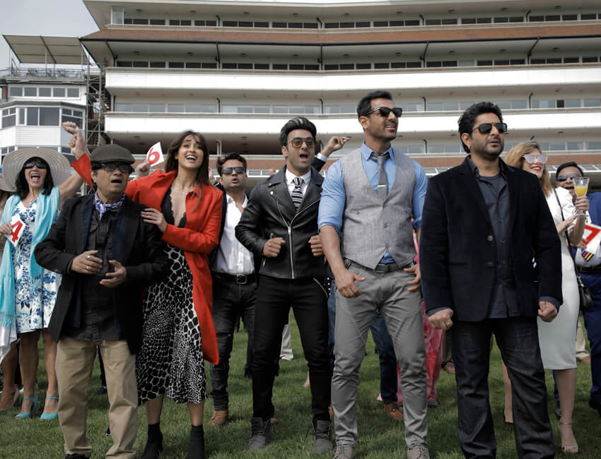 Here's What Went Behind Shooting A Race Course Sequence For Pagalpanti in Berkshire