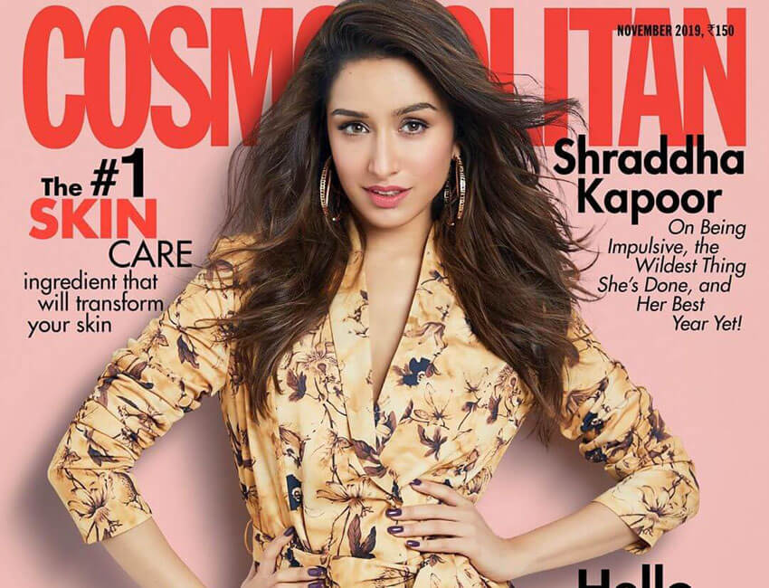 Shraddha Kapoor looks as chic as ever as she dazzles on the cover a leading magazine!