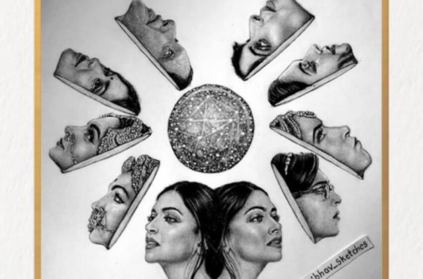 Deepika Padukone kickstarts FANart Friday, admiring a fan's artwork, read to know more