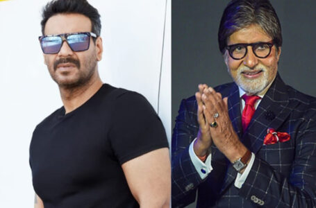 Ajay Devgn to direct Amitabh Bachchan in his next titled Mayday