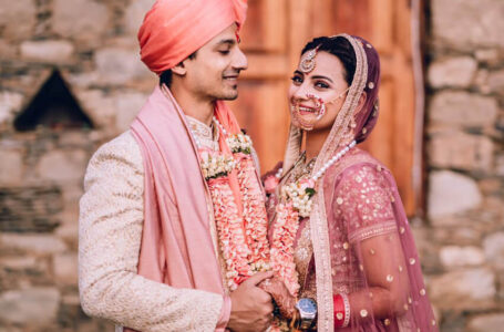 Priyanshu Painyuli and Vandana Joshi on their wedding which happened last evening in Dehradun