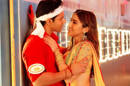 Creators unveil peppy romantic track 'Teri Bhabhi' from the upcoming Amazon Original Movie, Coolie No.1
