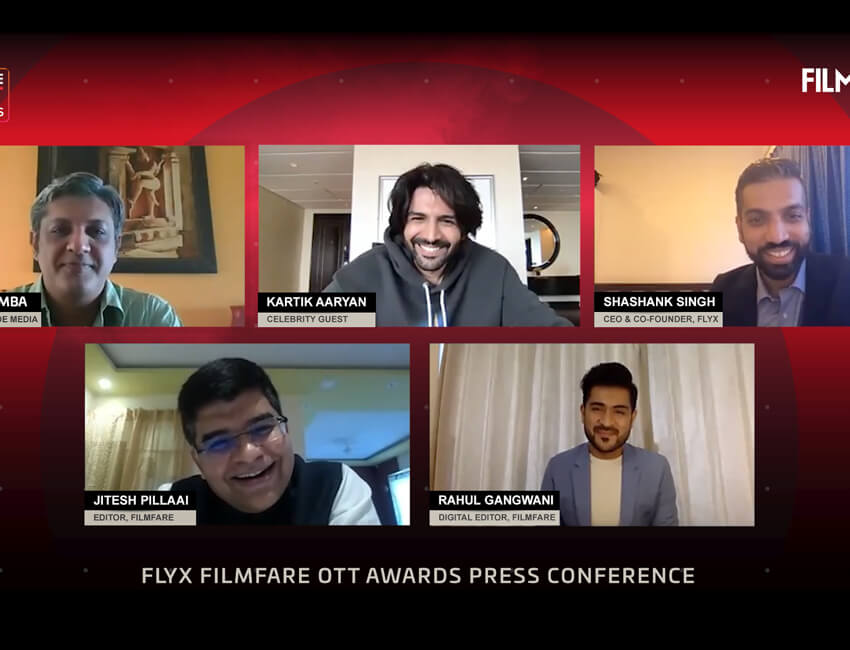Nominations Announced For the Inaugural Edition of Flyx Filmfare OTT Awards
