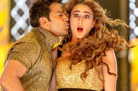 Sara Ali Khan & Varun Dhawan set the floor on fire with their chemistry in 'Husn Hai Suhana' from Coolie No. 1