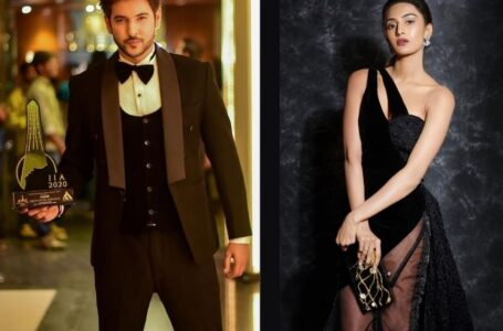 Shivin Narang, Erica Fernandes win Best Actor and Actress at International Iconic Awards