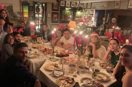Kareena Kapoor and Saif Ali Khan Hosted Christmas Dinner For Friends And Family