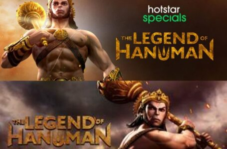 Hotstar Specials presents The legend of Hanuman – the unseen story of His journey from mighty warrior to beloved God