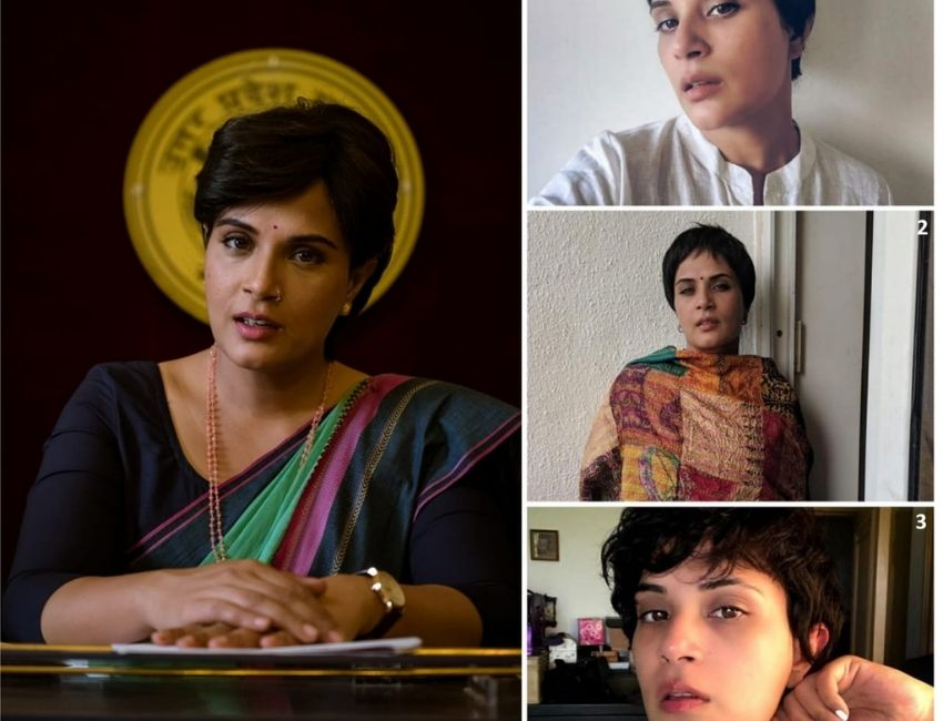 The makers of Madam Chief Minister decided to go for wigs instead of chopping tresses for Richa Chadha's character