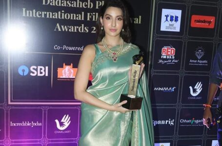 Nora Fatehi earns the 'Performer of the Year' title with consecutive successes