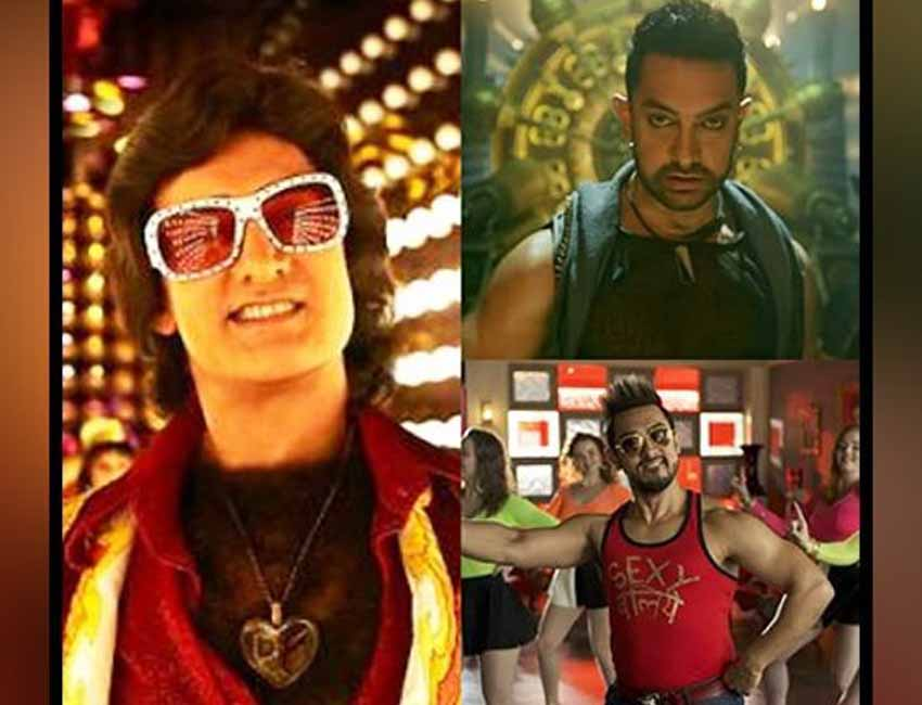 Aamir Khan is all set to surprise the viewers his new song! Let's have a look at some of the actors' previous quirky dance numbers!