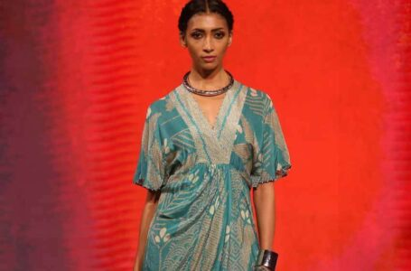 TRESemme presented Ritu Kumar's new spring/summer 2021 colourful collection at Lakmé Fashion Week