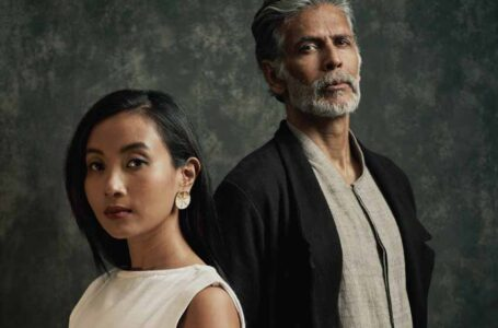 Celebrity couple Milind Soman and Ankita Konwar starred in the new peta India vegan fashion look book at Lakmé Fashion Week