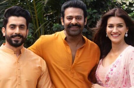 Kriti Sanon, Sunny Singh join Adipurush as Sita and Lakshman to Prabhas' Lord Ram