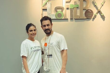 Superstar Actor Aamir Khan has started training at Flofitbox