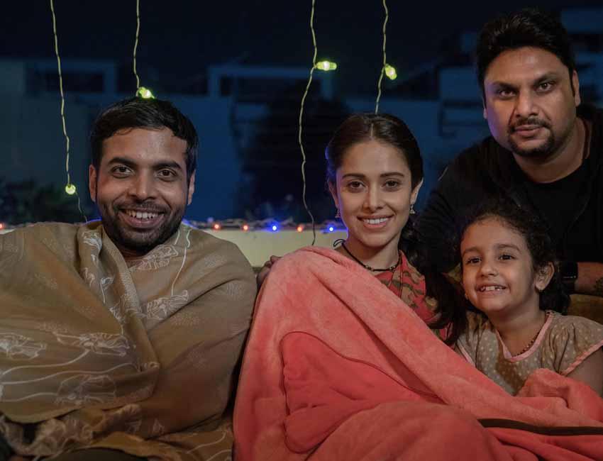 The best eight days Nushrratt Bharuccha has spent on a film set.