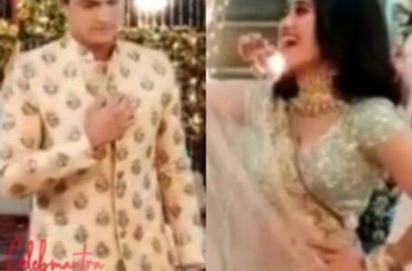 BTS Fun Of Shivangi Joshi On The Sets Of Yeh Rishta Kya Khelata Hai....!