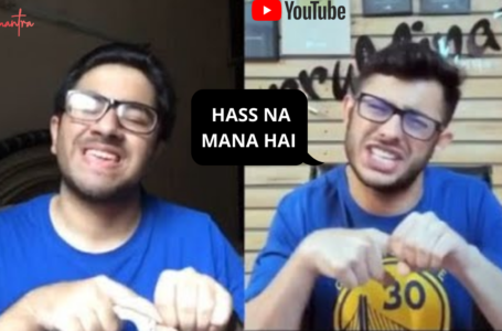 Best mimicry of carry minati by ronit ashra | Dont laugh challenge |