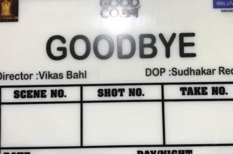 'Goodbye' starring Amitabh Bachchan-Rashmika Mandanna goes on-floors; directed by Vikas Bahl
