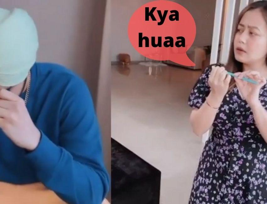 Neha Kakkar shares a funny video with Rohanpreet Singh.