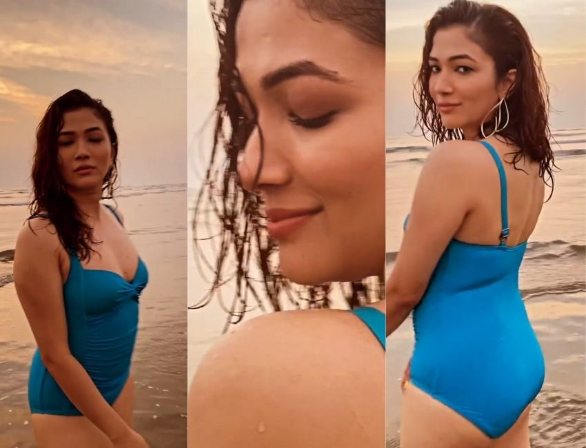 Ridhima Pandit is catching our attention with her glamorous look…!!