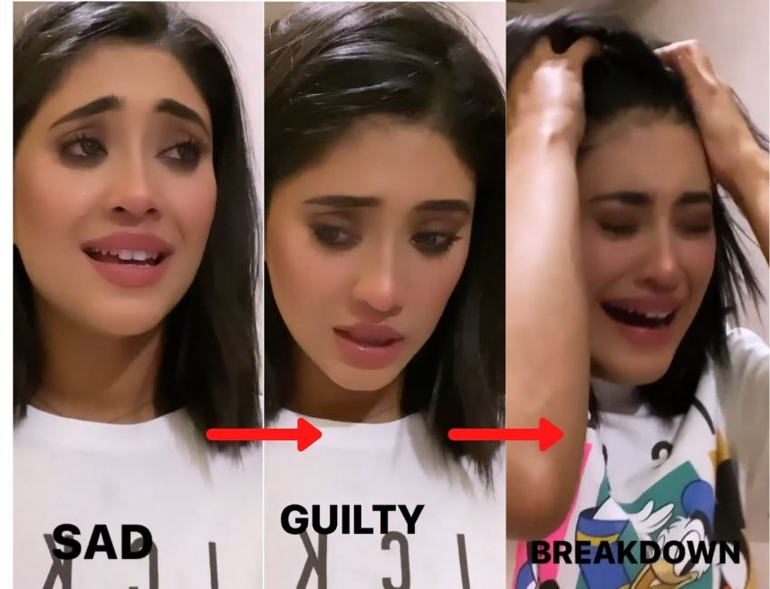 Shivangi Joshi takes down her hands on expression challenge..!