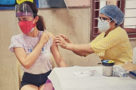 Radhika Madan gets vaccinated against Covid, urges everyone to register