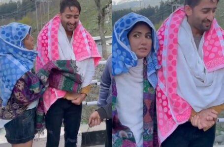 Hina Khan shares BTS video of Baarish Ban Jaana..!