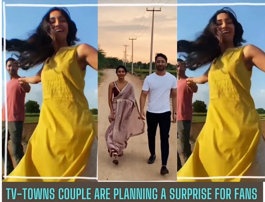 Looks like the tv-towns couple are planning a surprise for fans..!
