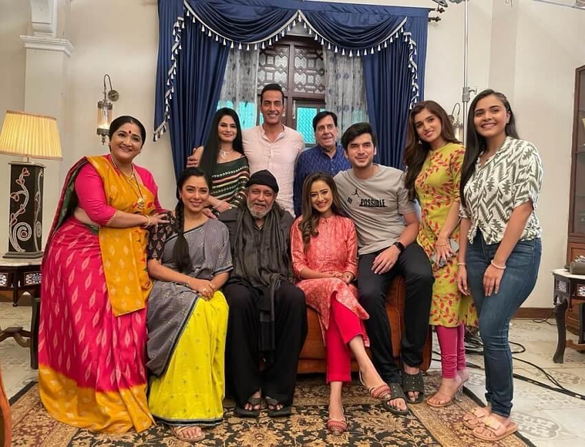 When Mithun Da visited Rajan Shahi's Anupamaa set!