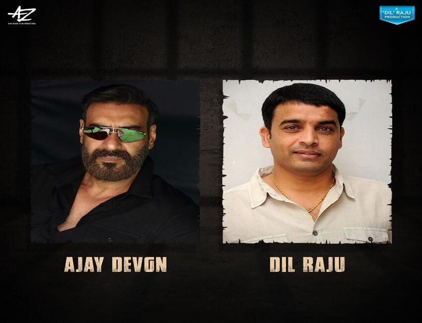 Ajay Devgn & Dil Raju join hands for the Hindi remake of Telugu Hit 'Naandhi'