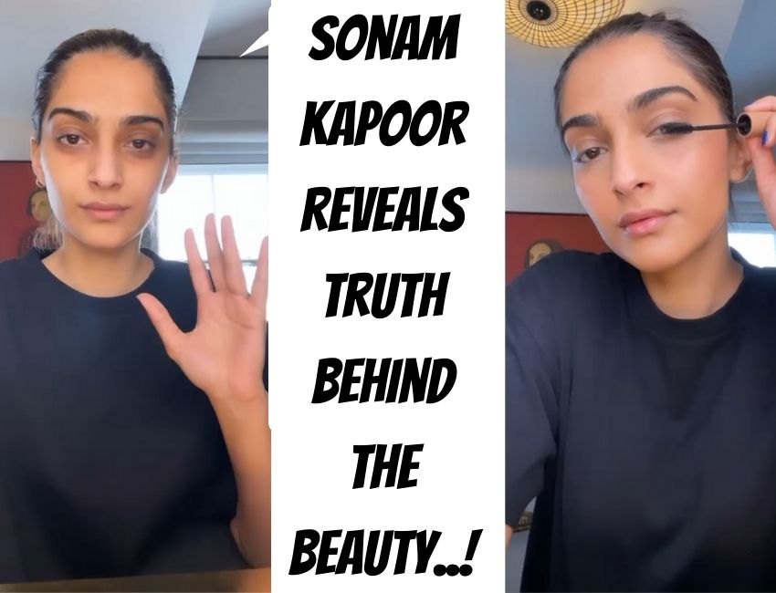 Sonam Kapoor reveals truth behind the Beauty..!
