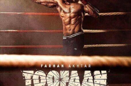Farhan Akhtar releases Toofan Poster