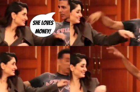 BTS moments from the masti between Akshay kumar and Kareena Kapoor..!