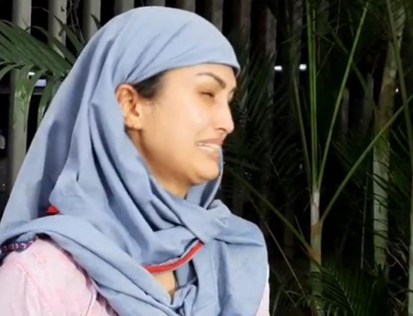 Nisha Rawal Clearly Gave statement What happened last night between her & Actor Karan Mehra.