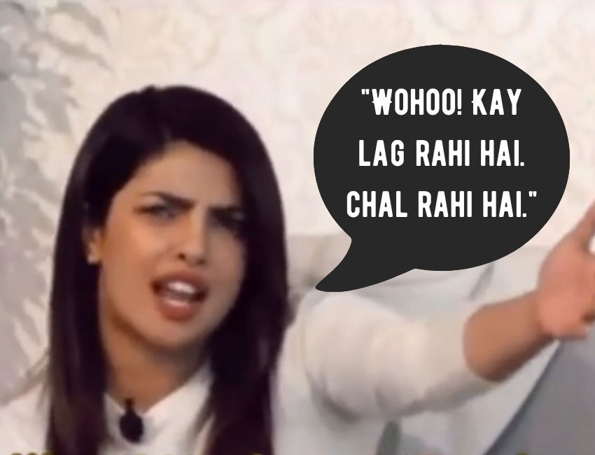 Priyanka Chopra hilarious reply on Boys Eve teasing will leave you laugh out loud.