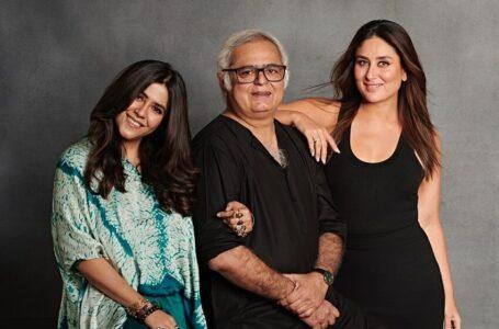 Kareena Kapoor, Hansal Mehta and Ekta Kapoor