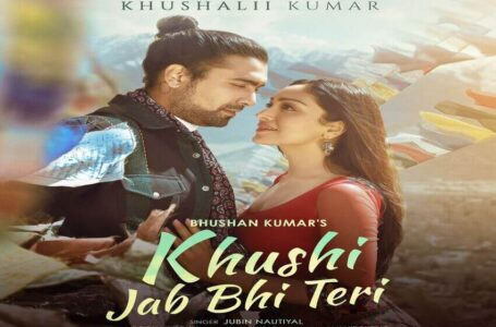 A romantic track sprinkled with unconditional love - Jubin Nautiyal & Khushali Kumar's love song 'Khushi Jab Bhi Teri' out now