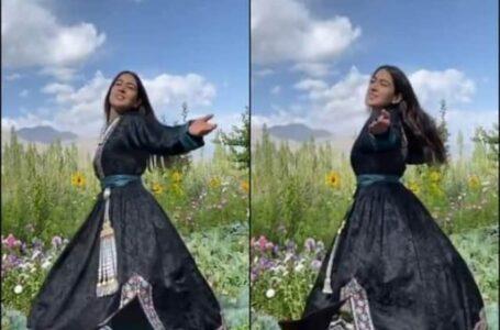 Sara Ali Khan , Ladakh