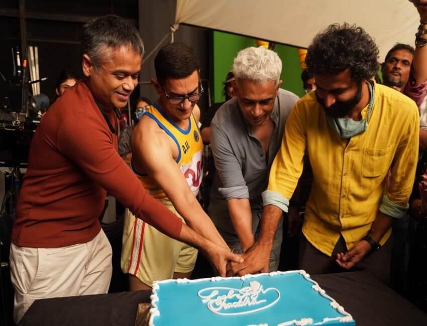 It's a Wrap for Aamir Khan Productions' Laal Singh Chaddha starring Aamir Khan & Kareena Kapoor Khan!