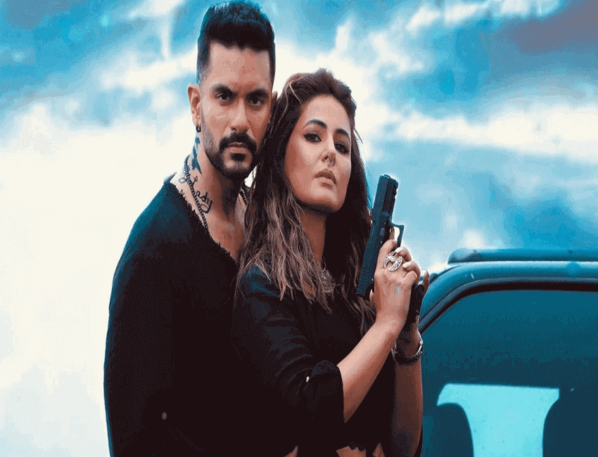 Hina Khan and Angad Bedi raise temperatures with their new avatars in their new original song- 'Main Bhi Barbaad'
