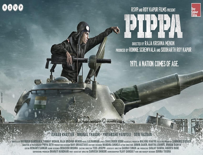 Pippa first look revealed: Ishaan Khatter all set for liberation!