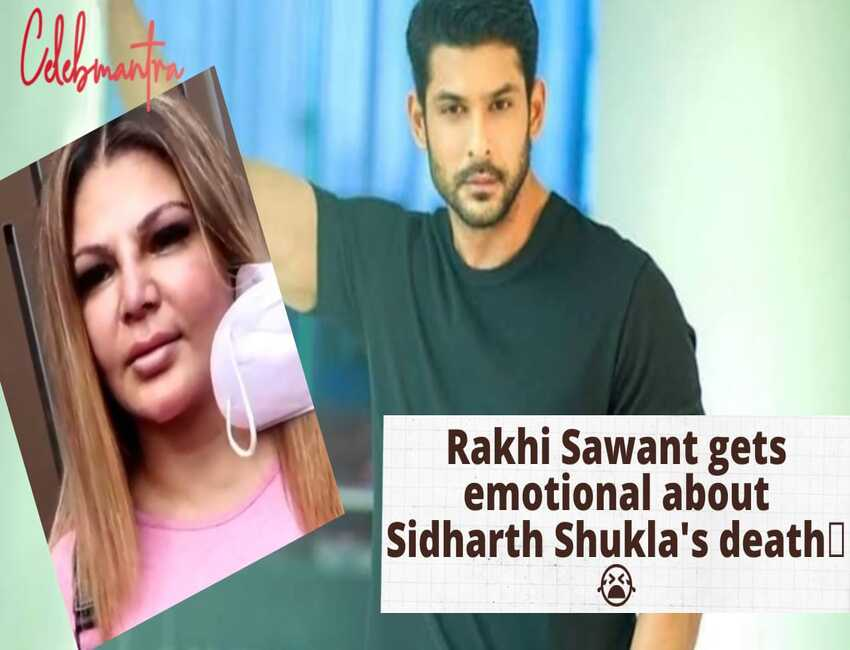 WATCH: Rakhi Sawant cries & REACTS on Sidharth Shukla's sudden death   Bigg Boss   Shehnaaz Gill 