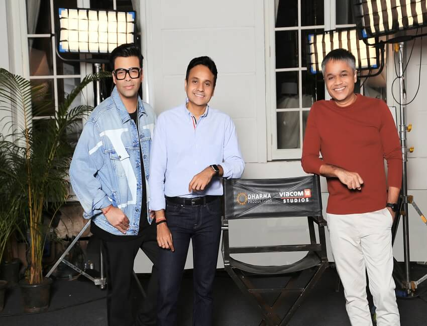Viacom18 Studios and Dharma Productions partner to bring a star-studded line up of films to the silver screen